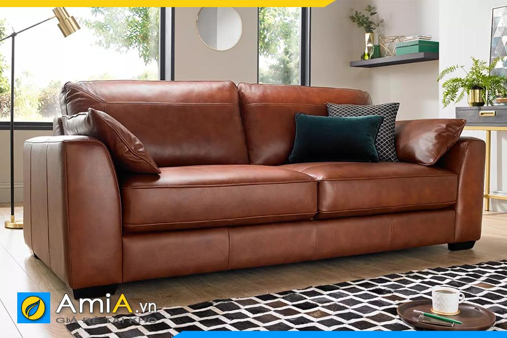 ghế sofa màu da bò đẹp