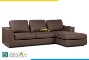 ghế sofa da đẹp trẻ trung AmiA 20152