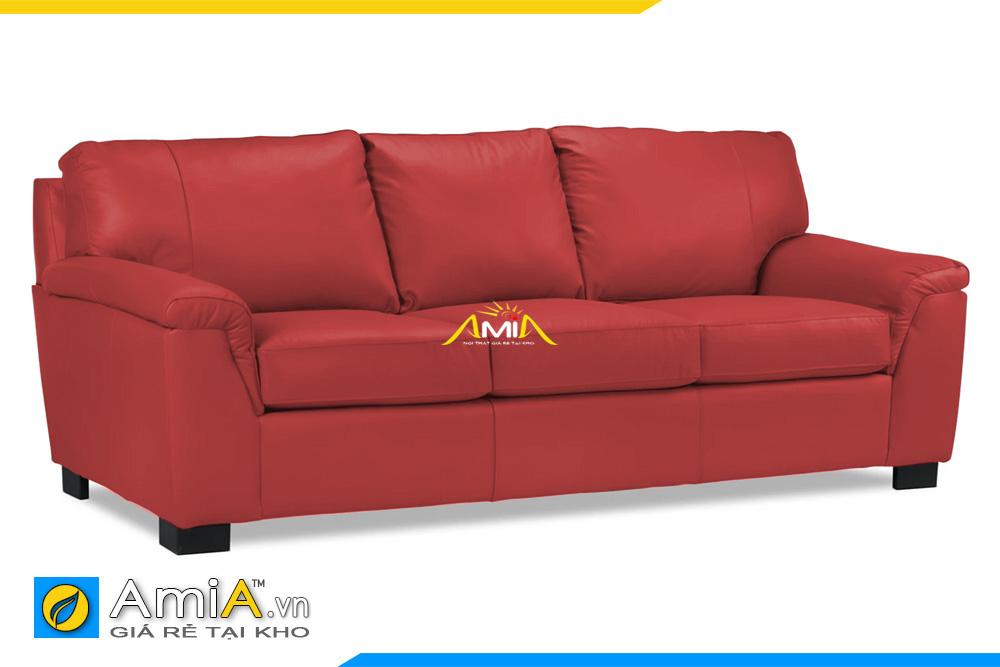 ghế sofa phòng khách màu đỏ 20106