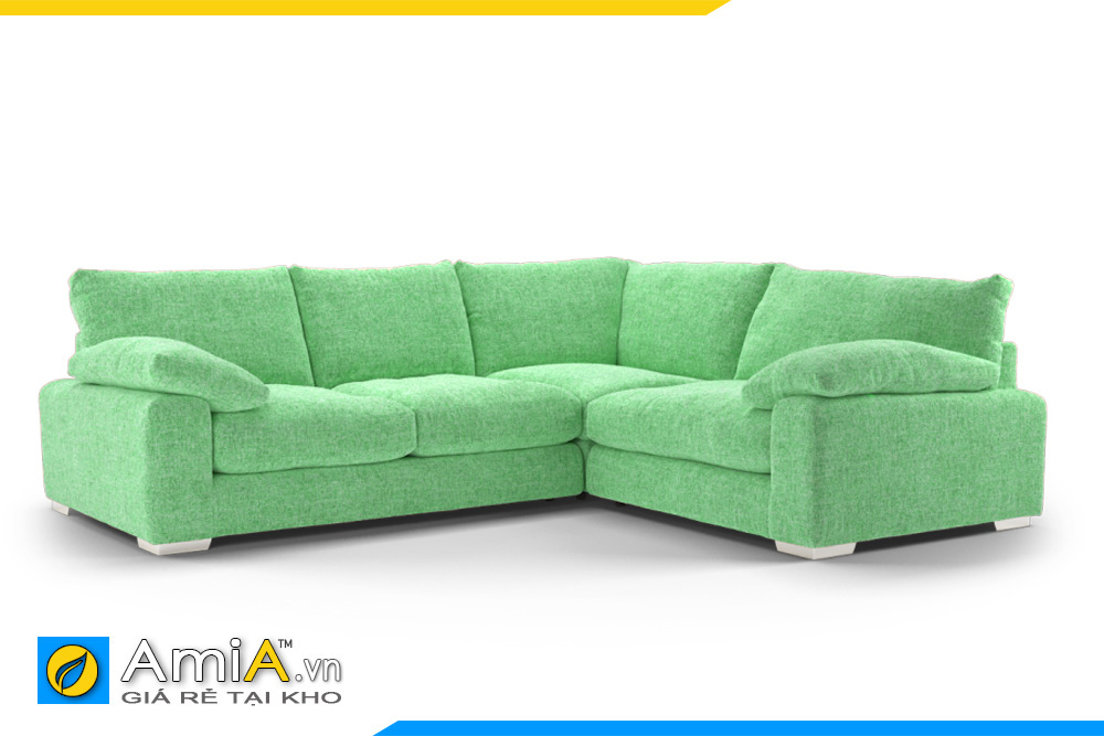 ghế sofa đẹp màu xanh nõn chuối