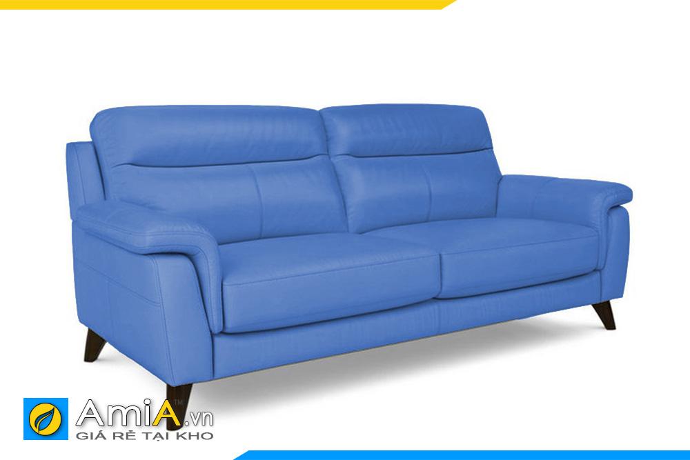 ghế sofa da kiểu văng nhỏ