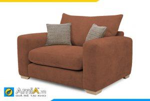 sofa phòng ngủ màu nâu