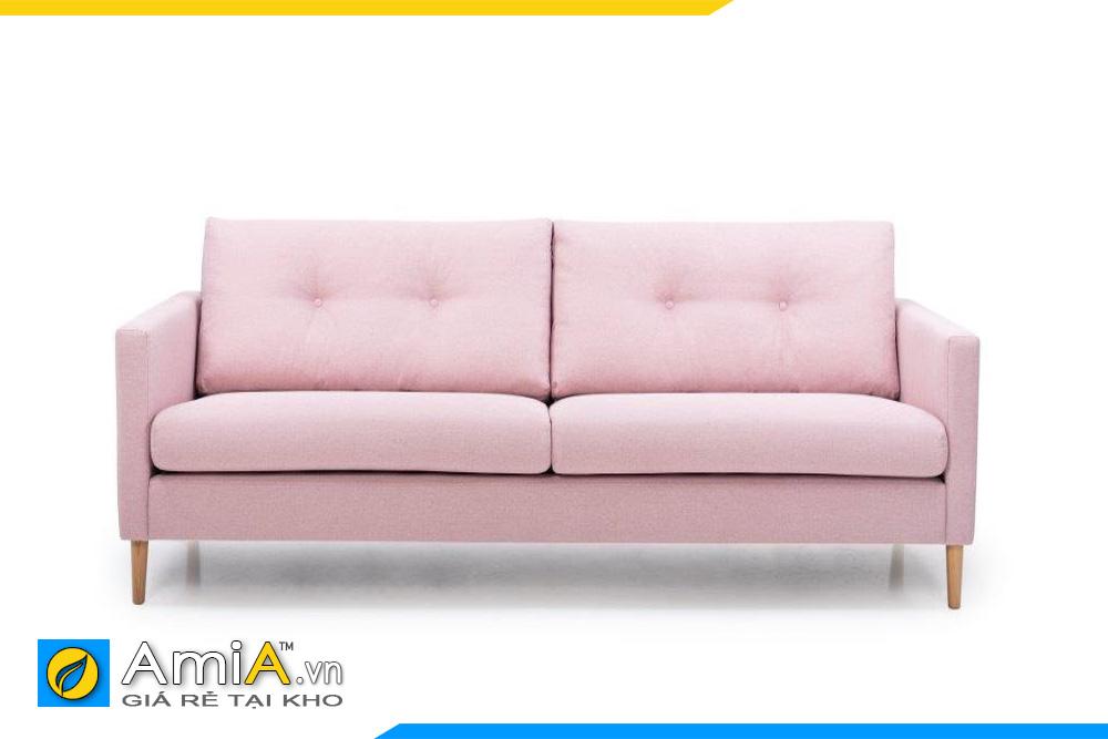 Sofa giá rẻ màu hồng phai