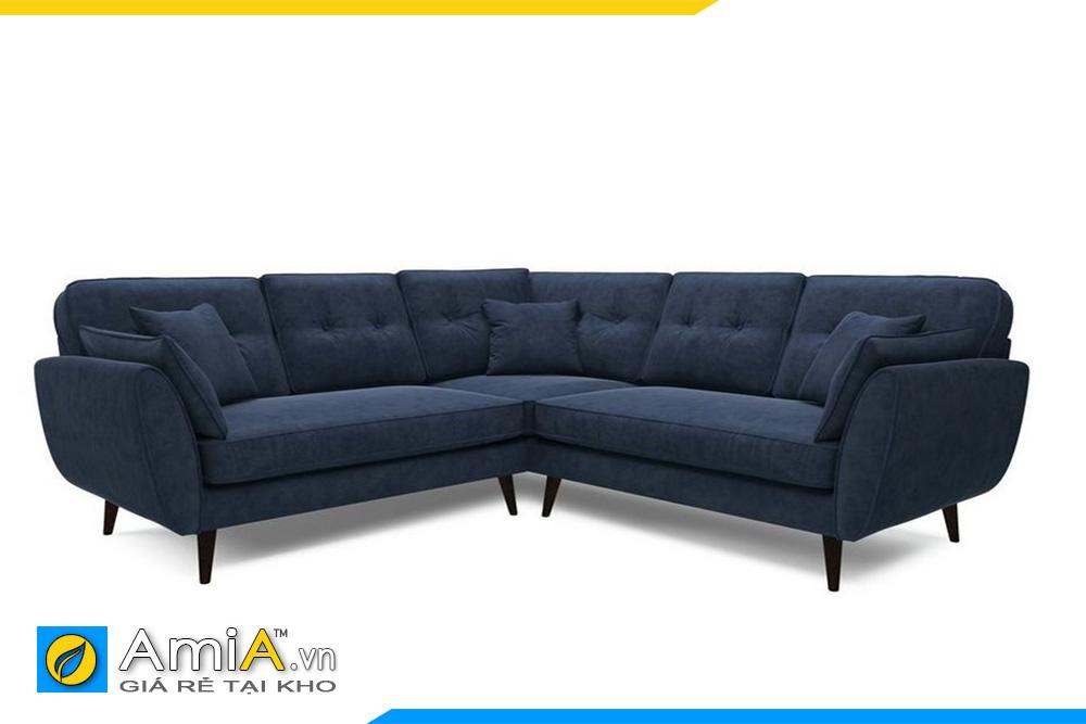 sofa góc chữ V giá rẻ AmiA 20019