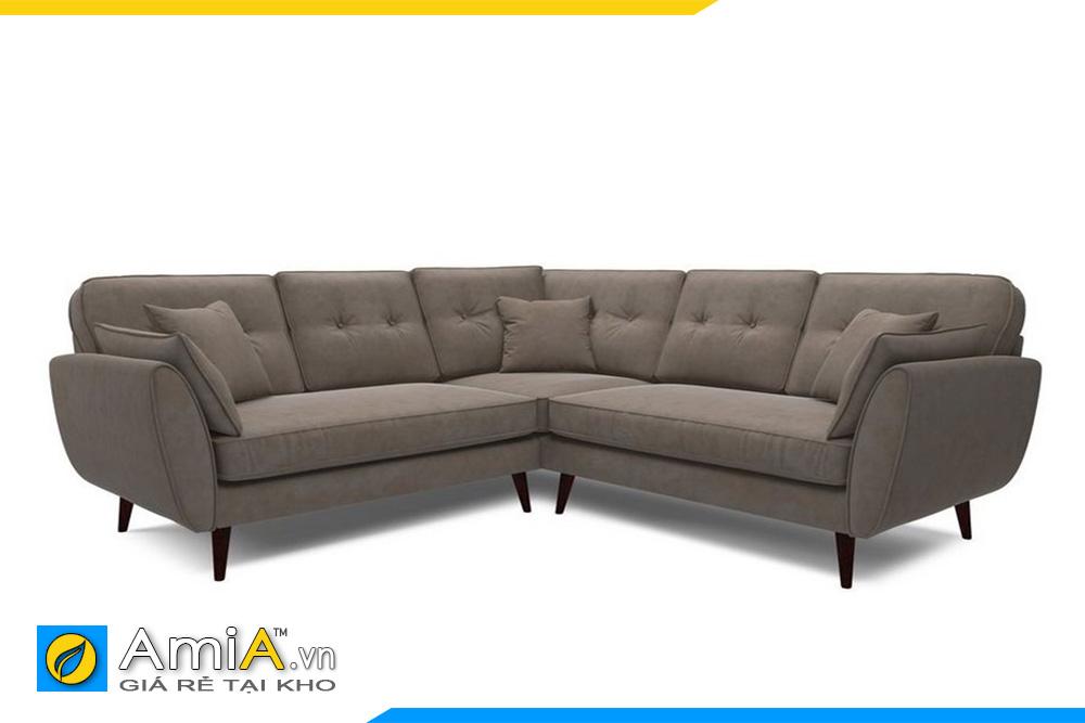 sofa góc v đẹp AmiA 20019