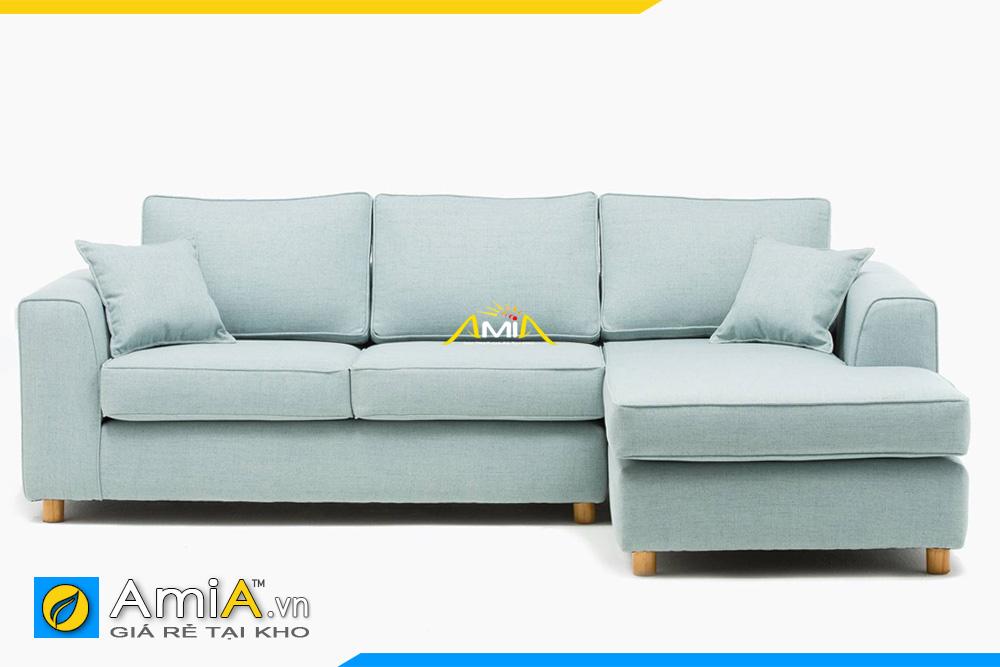 ghế sofa góc bọc nỉ đẹp