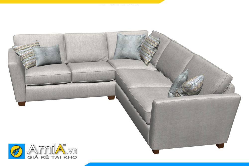 Sofa đẹp kiểu góc AmiA 20021