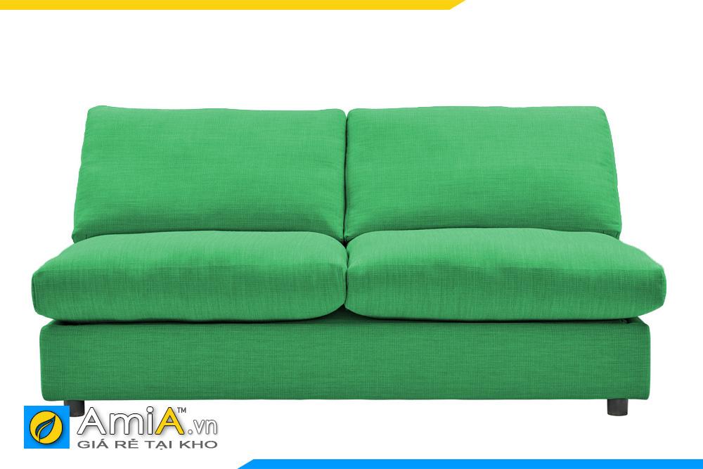 sofa đẹp màu xanh lá cây