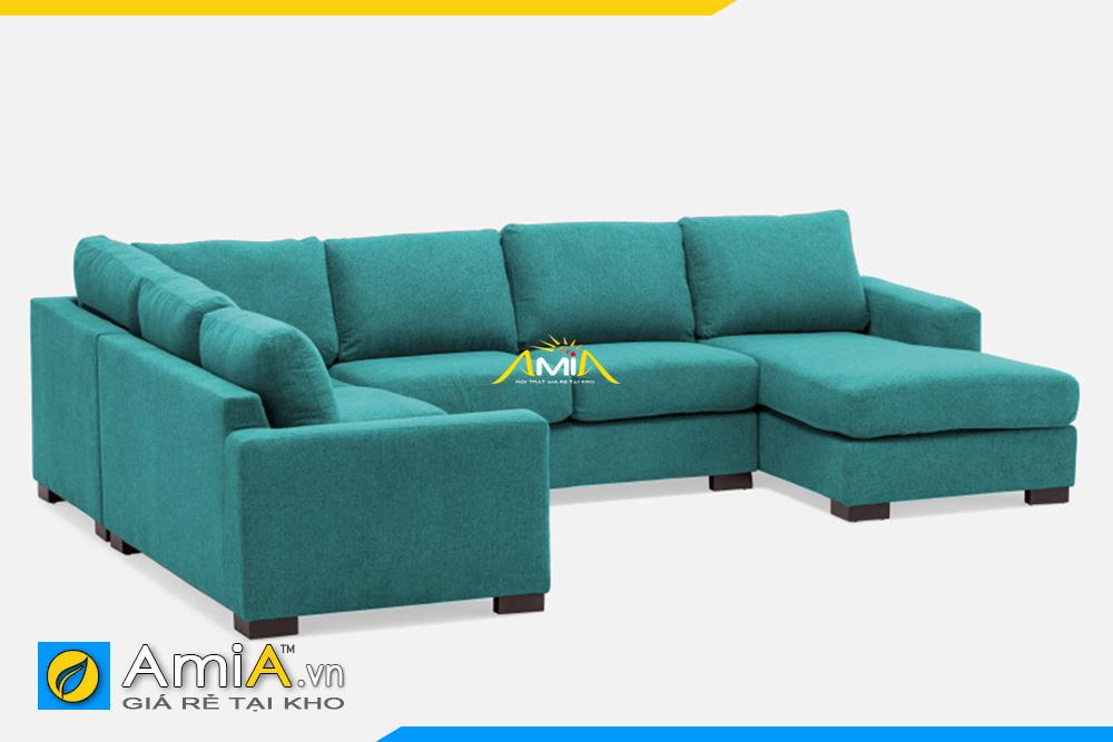 sofa màu xanh kích thước lớn