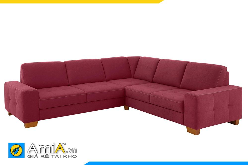 sofa màu đỏ sẫm