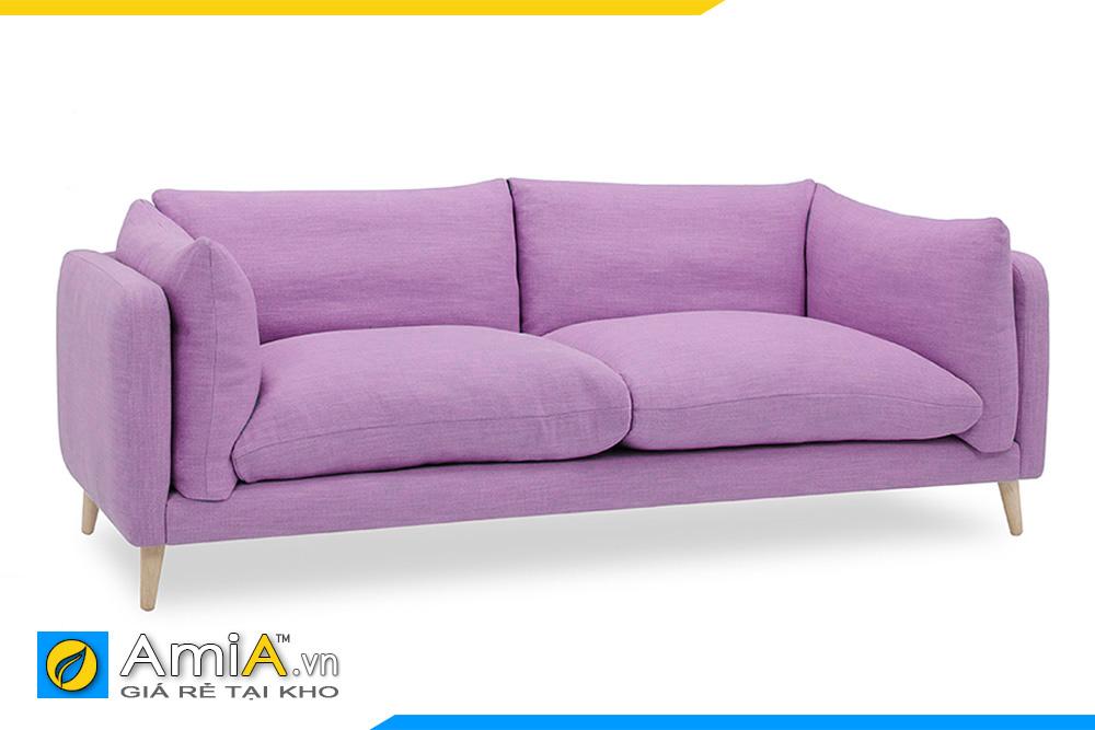 Sofa nhỏ xinh màu tím hồng