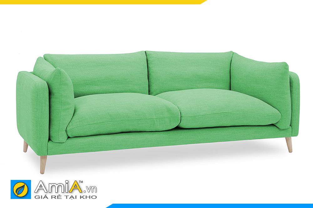 sofa nhỏ mini màu xanh lá cây