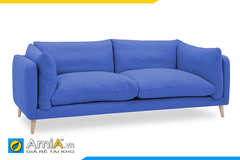 Ghế sofa nhỏ màu xanh dương AmiA 20075