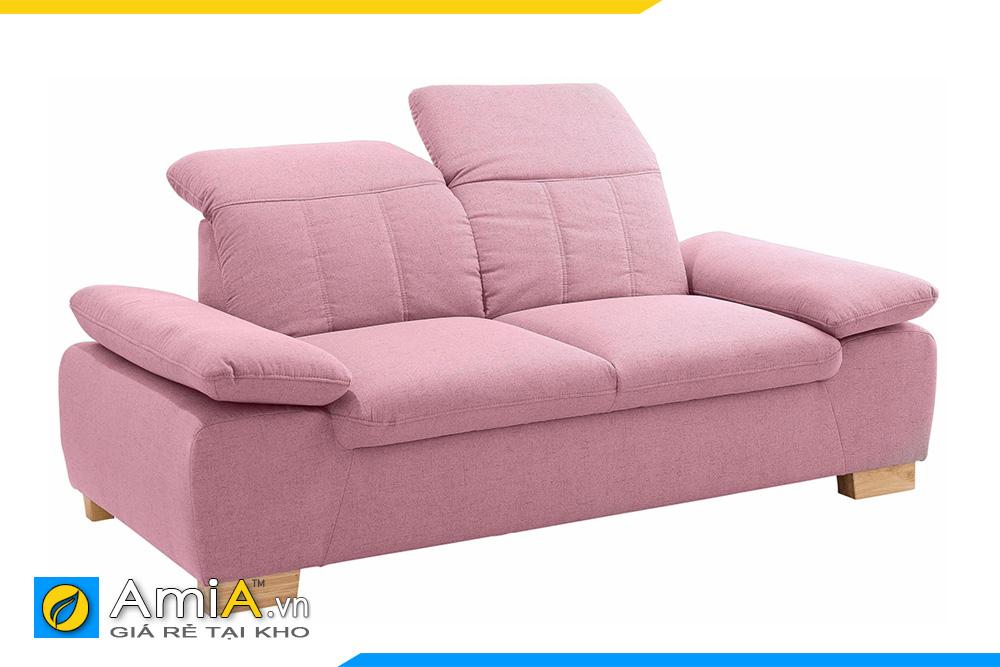Mâu sofa nhỏ xinh màu hồng lãng mạn