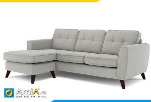 Mẫu ghê sofa phòng khách kiểu góc