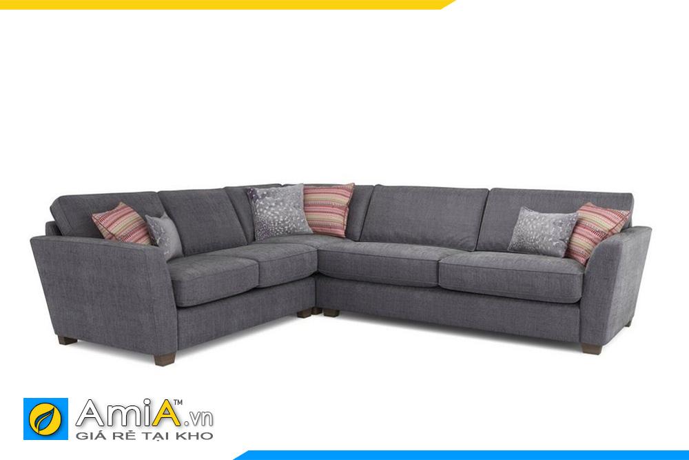 ghế sofa góc chất liệu nỉ