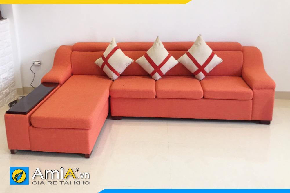 sofa phòng khách chất liệu nỉ