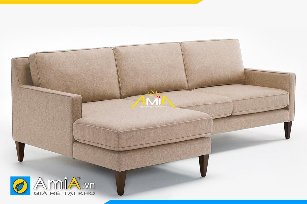 sofa màu nâu nhạt AmiA 20193