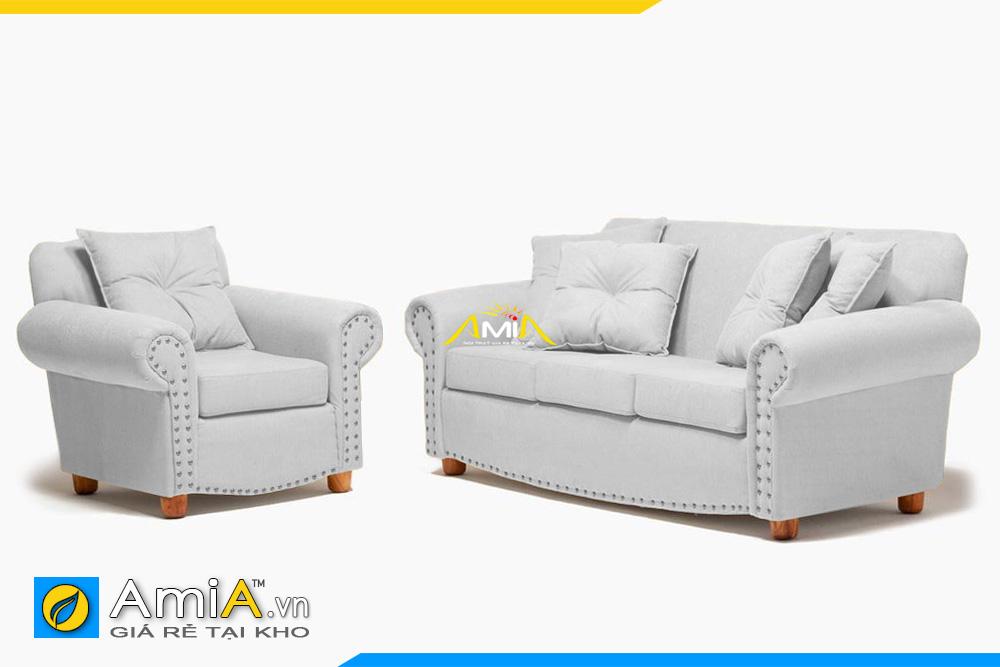 Bộ ghế sofa phòng khách tân cổ điển AmiA-20177