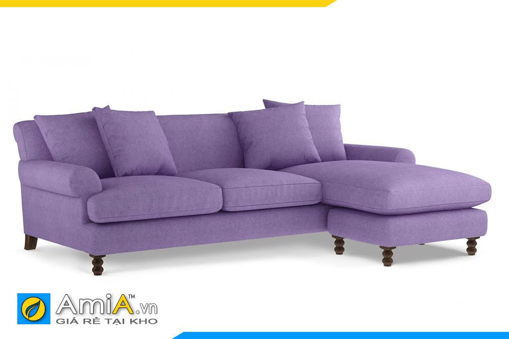 Sofa góc kiểu tân cổ điển