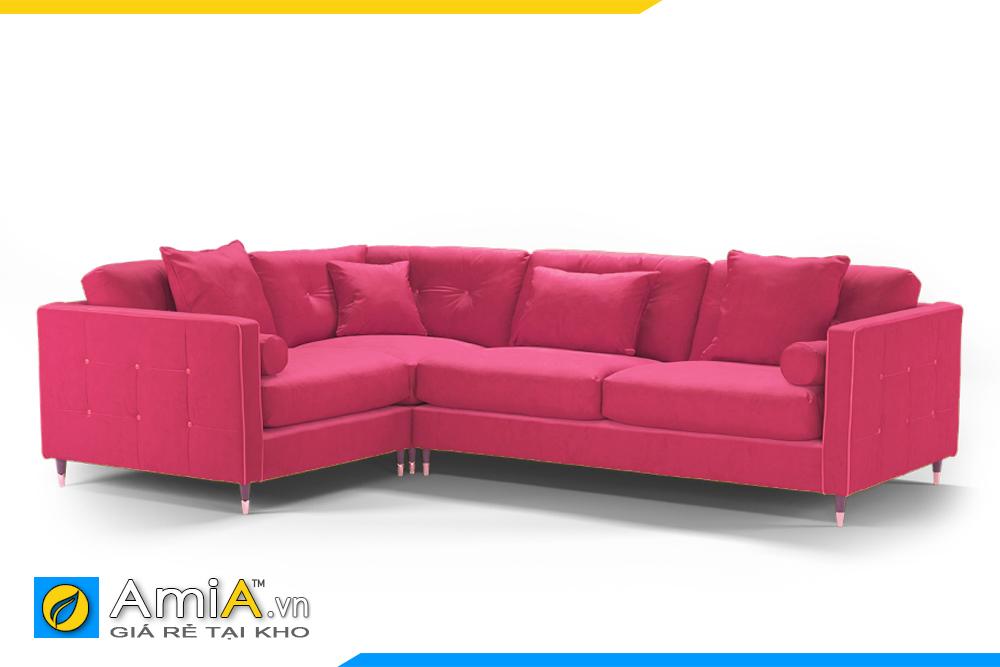 Sofa góc L đẹp kê phòng khách