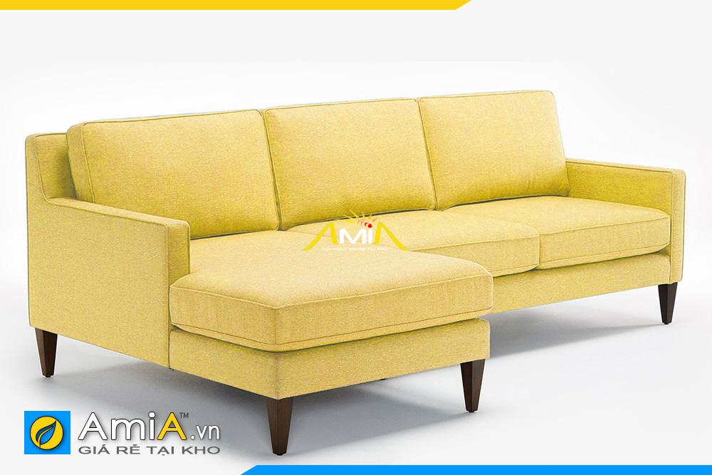 sofa màu vàng sang trọng