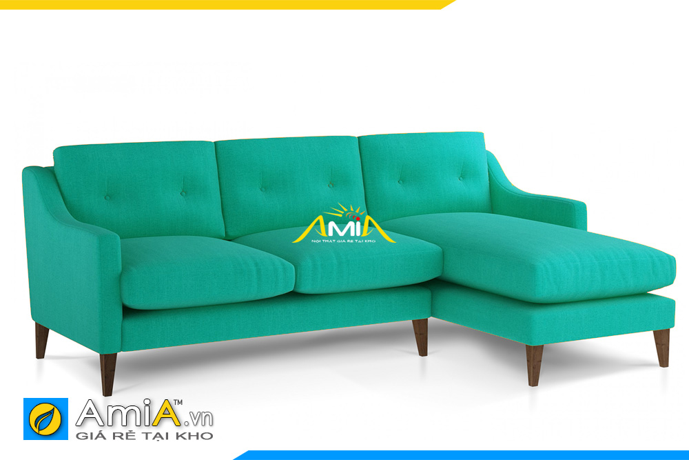 ghế sofa đẹp màu xanh AmiA 20097