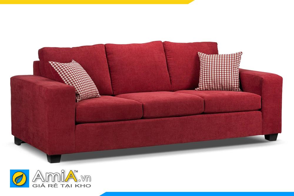 mẫu ghế văng dài màu đỏ