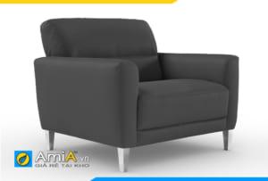 ghế sofa đơn đẹp màu đen AmiA 20928