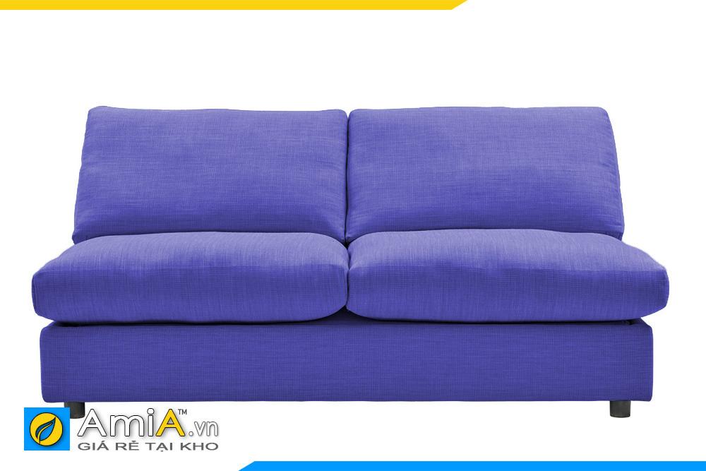 Sofa phòng ngủ đẹp màu xanh dương