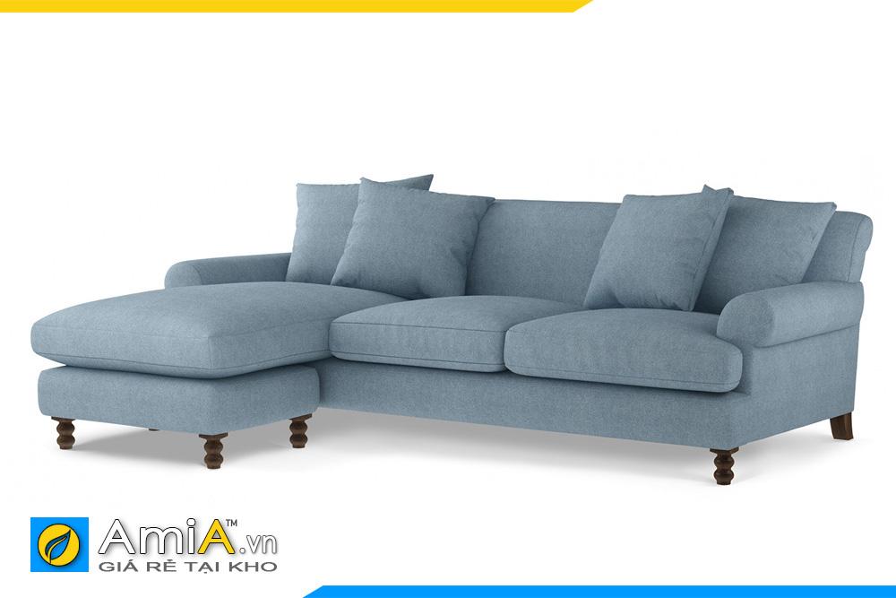 sofa tân cổ điển màu ghi AmiA 20093