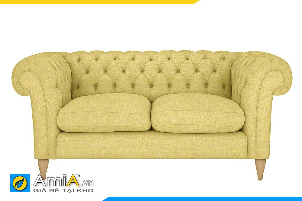 ghế sofa màu vàng sang trọng