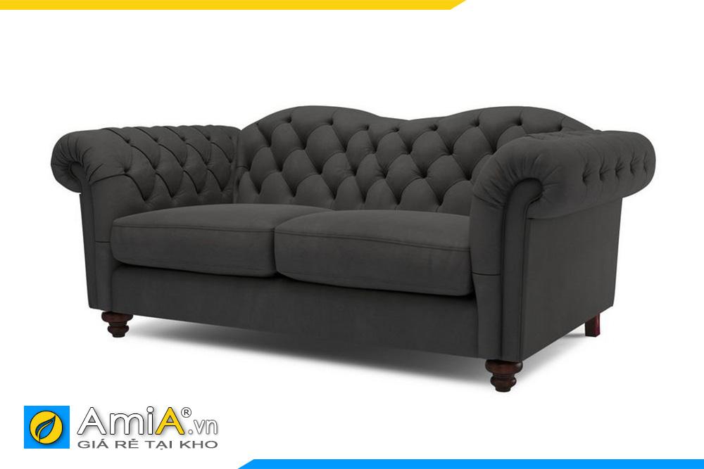 sofa màu ghi sẫm đen