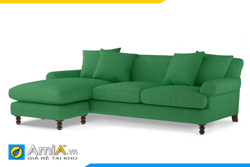 sofa tân cổ điển màu xanh AmiA 20093