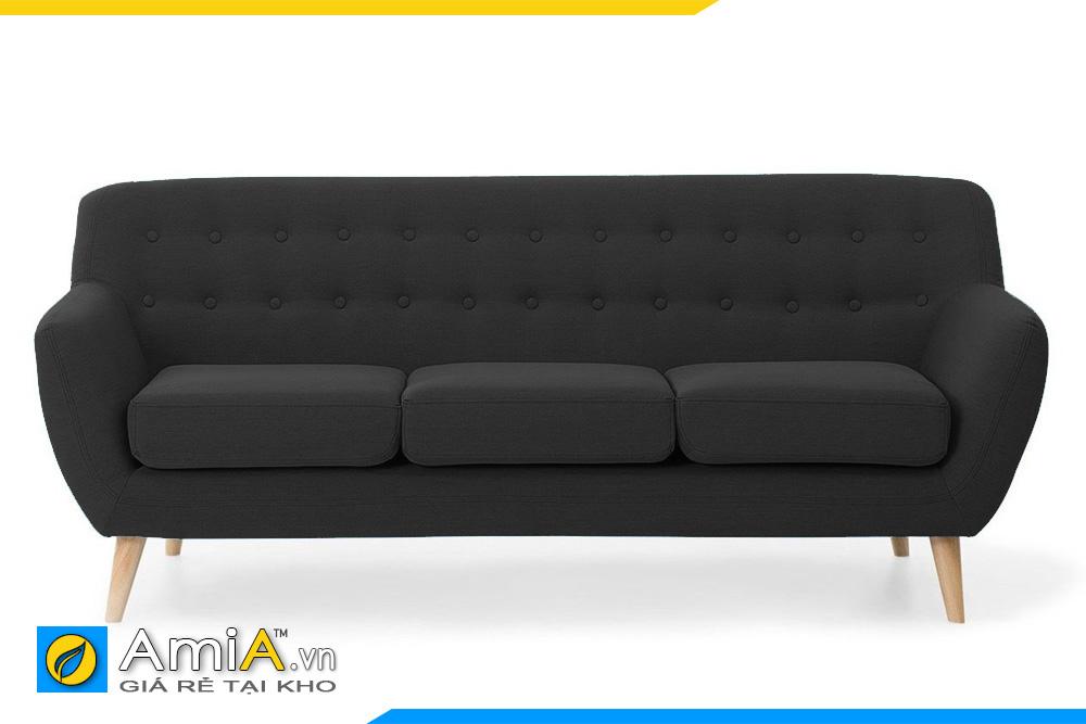 ghế sofa văng chân gỗ cao