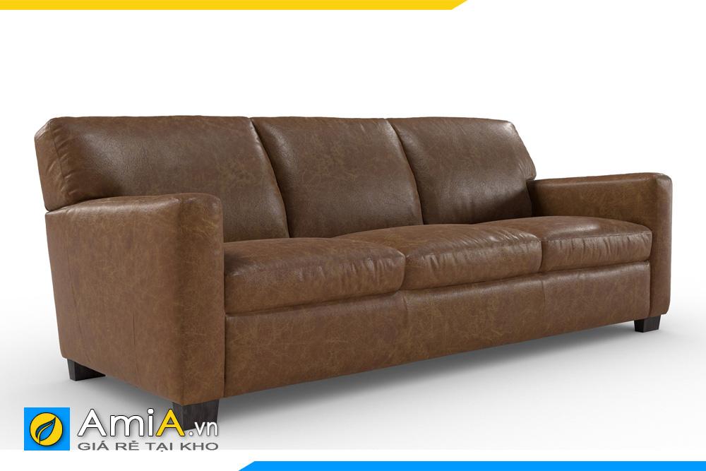 sofa da đẹp kê văn phòng công ty