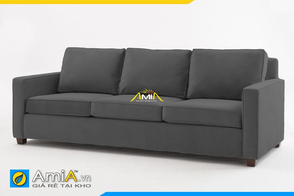 ghế sofa văng nỉ giá rẻ AmiA 20114
