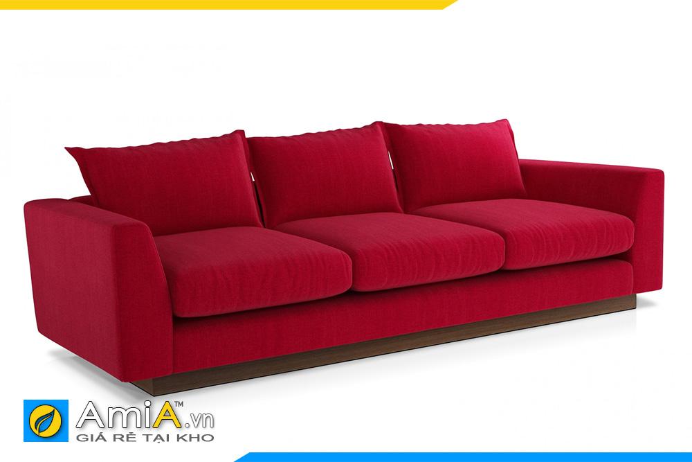 ghế sofa văng 3 chỗ dáng thấp