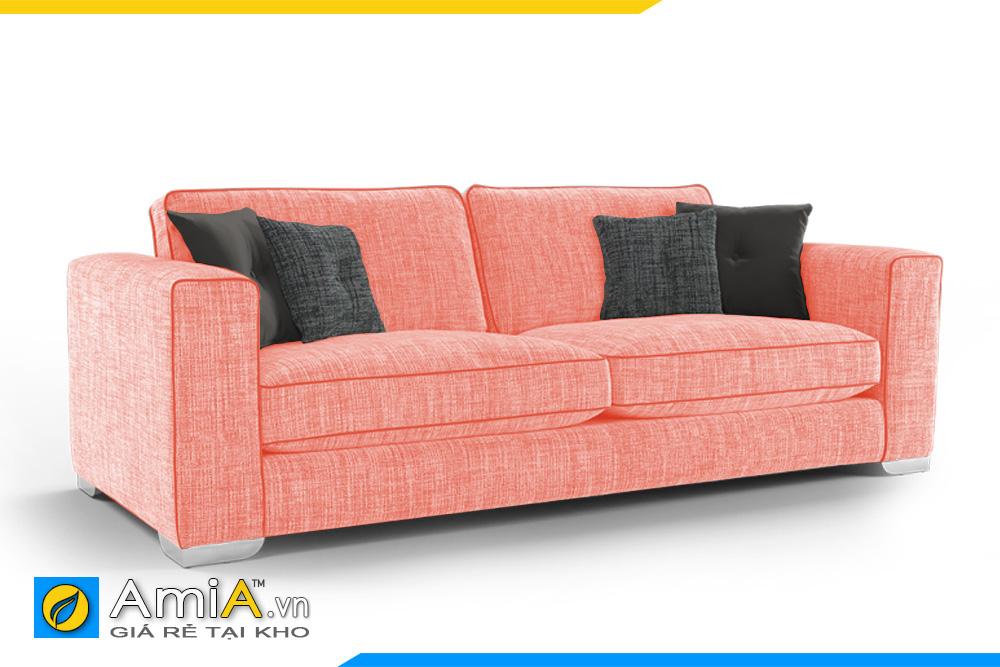 ghế sofa nhỏ màu hồng đẹp