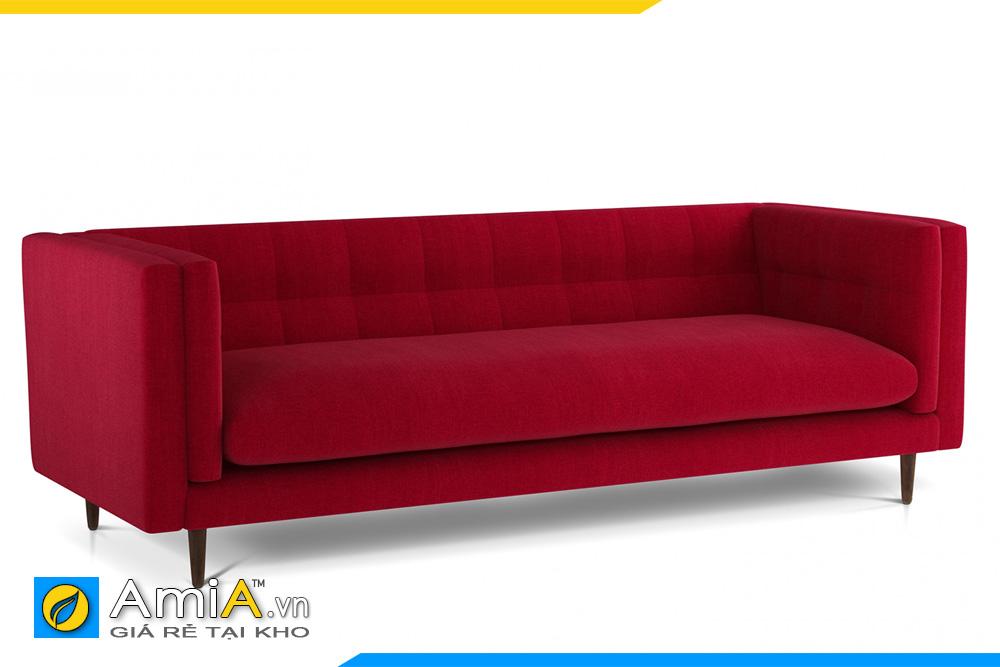 sofa phòng khách đẹp màu đỏ