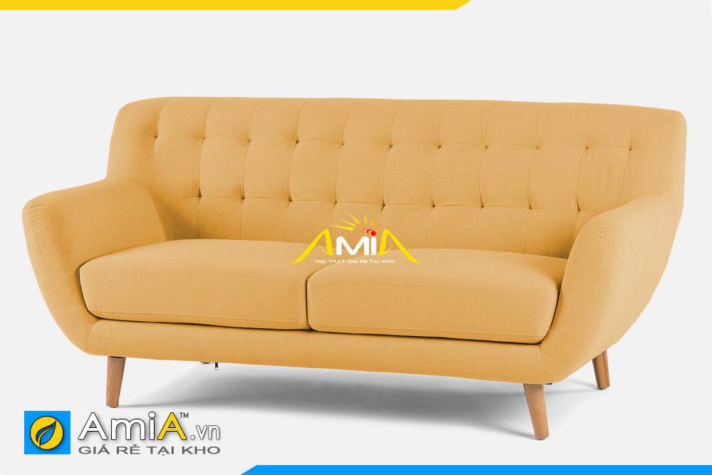 ghế sofa màu vàng nhỏ mini