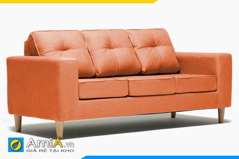 ghế sofa văng màu cam đẹp