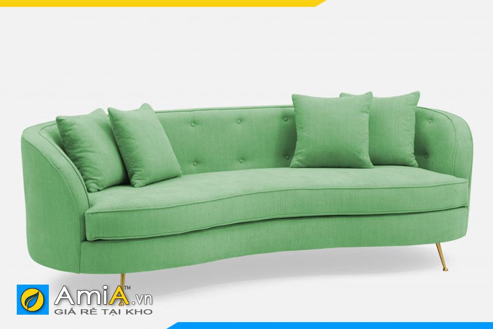 sofa đẹp màu xanh mạ AmiA 20120