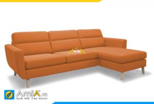 ghế sopha màu vàng cam đẹp