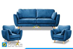 bộ sofa phòng khách 1 dài 2 ngắn AmiA 20202