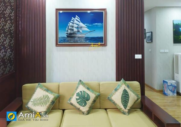 Hình ảnh Bức tranh thuận buồm xuôi gió treo tường phòng khách mã 330