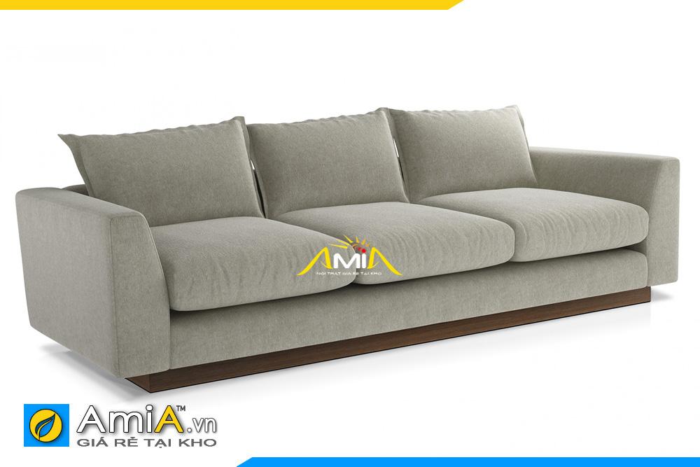 sofa văng 3 chỗ ngồi dáng thấp