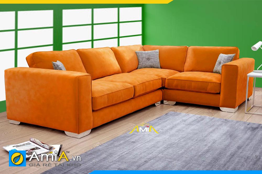 mẫu sofa phòng khách đẹp kiểu góc AmiA 20231