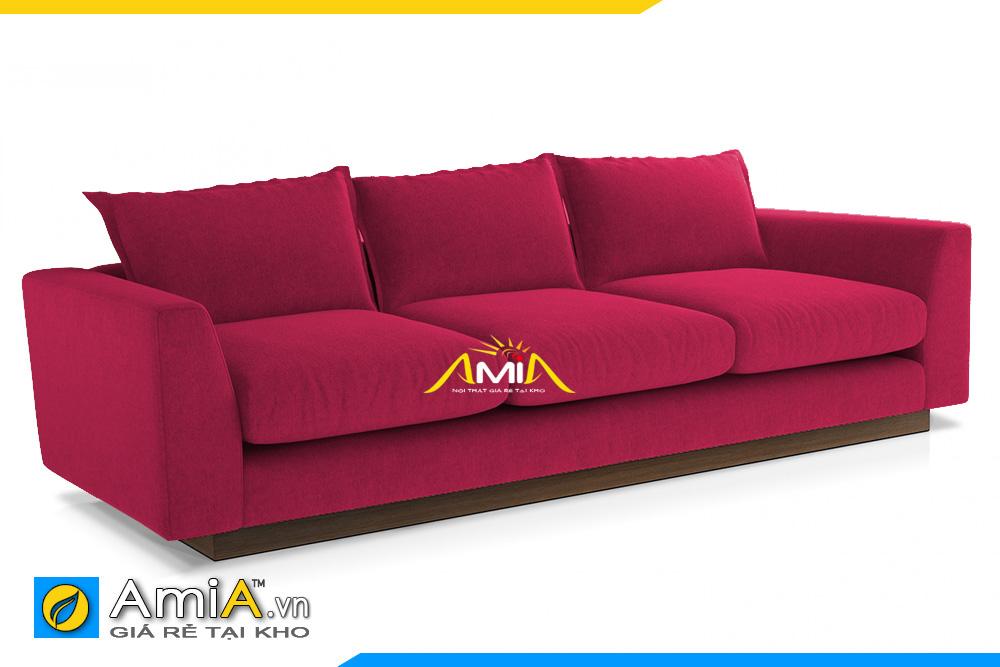 sofa văng nỉ đẹp màu tím