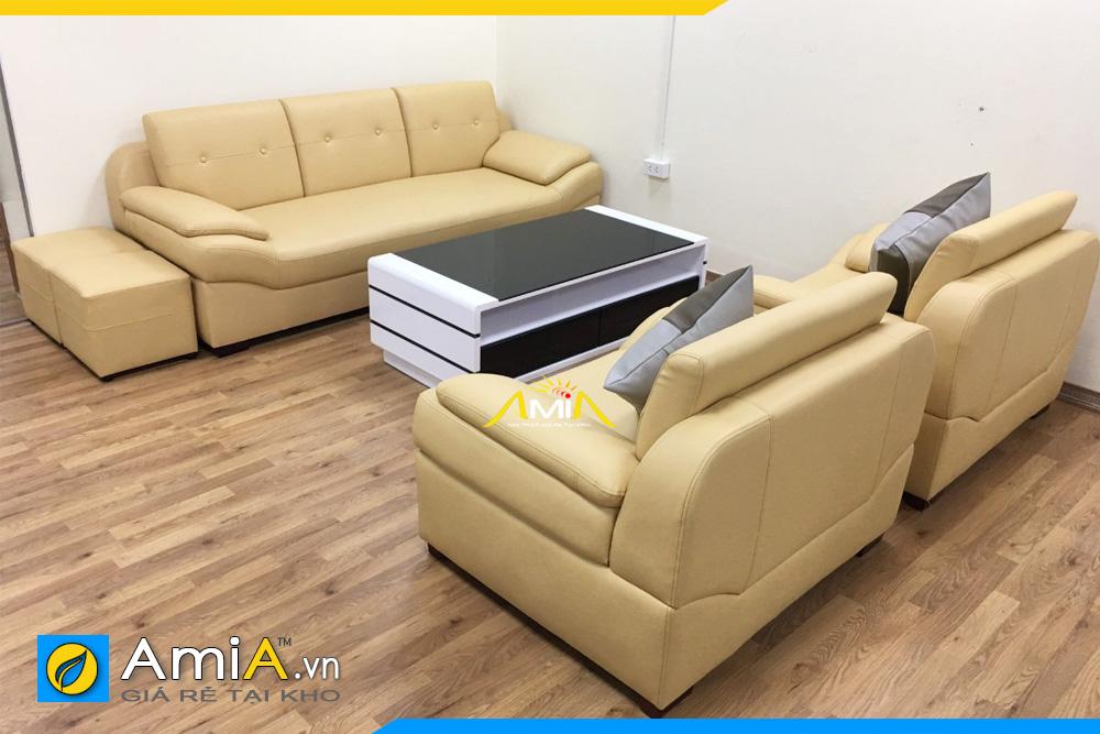 Bộ ghế sofa phòng khách nhiều ghế
